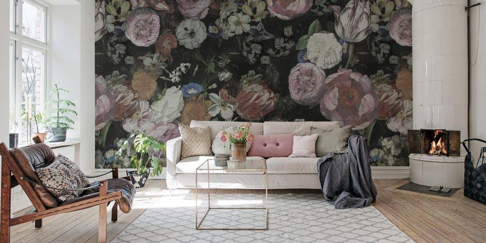 L'imprimé floral fait son show dans notre décoration d'intérieur